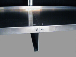 Foot Bracket for Walk-In Coolers by E-Z