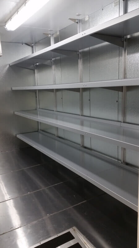 Mortuary Shelving Systems by E-Z Shelving Systems, Inc.