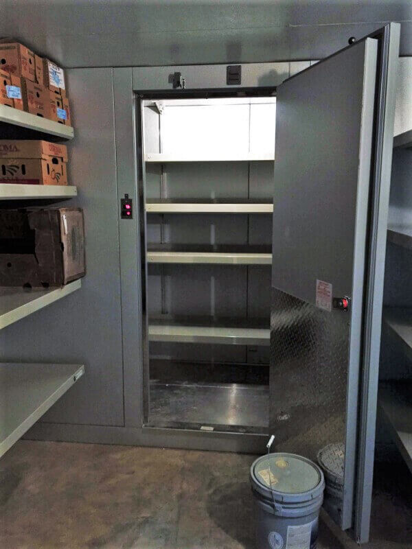 Walk-In Freezer Shelving by E-Z Shelving Systems, Inc.